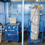 冷媒フロン回収機